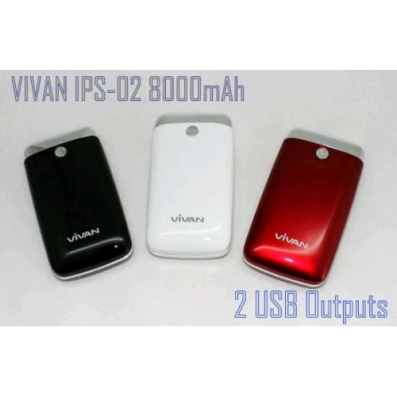 powerbank vivan  IPS-02 8000Mah, powerbank terbaik, powerbank yang bagus, powerbank murah , https://grosirpowerbankvivan.wordpress.com/