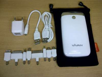Harga Power Bank Vivan 5000mah Power Bank Vivan Ips-02