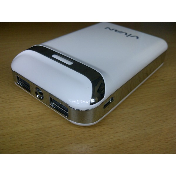 POWERBANK VIVAN IP-S03 Robot 8400 mAh, Grosir powerbank vivan, IP-S03