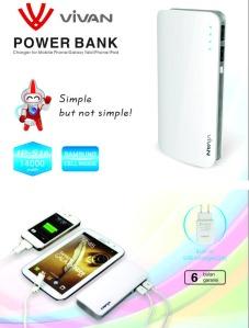 flashdisk unik, flashdisk unik murah, powerbank vivan IPS 16 14000mah dual port, flashdisk unik grosir http://flashdiskunikgrosir.wordpress.com/ 0857 303 20200