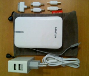powerbank vivan, powerbank terbaik, powerbank yang bagus, powerbank murah,ViVAN Powerbank IPS10 10400mah, http://grosirpowerbankvivan.wordpress.com/